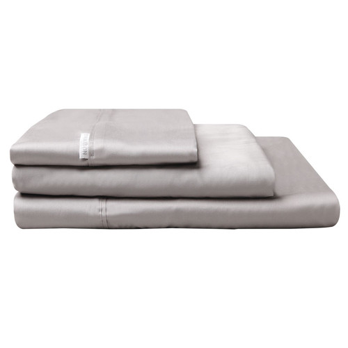 Logan and Mason Pewter Grey Sheet Set | My Linen