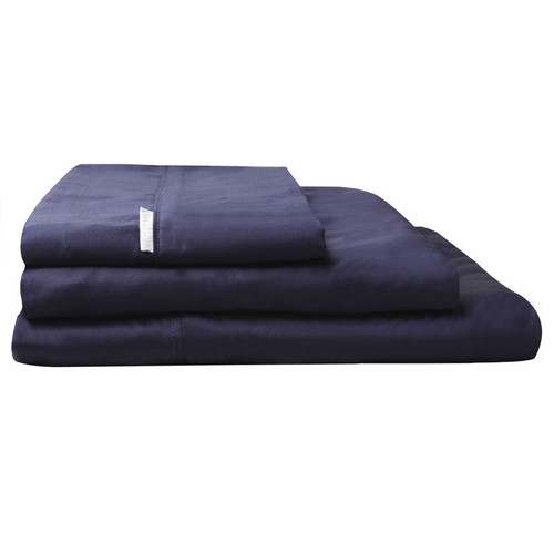 Logan and Mason Navy Blue Sheet Set | My Linen