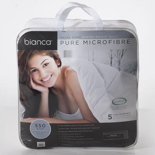 Bianca Relax Right Winter Quilt   My Linen