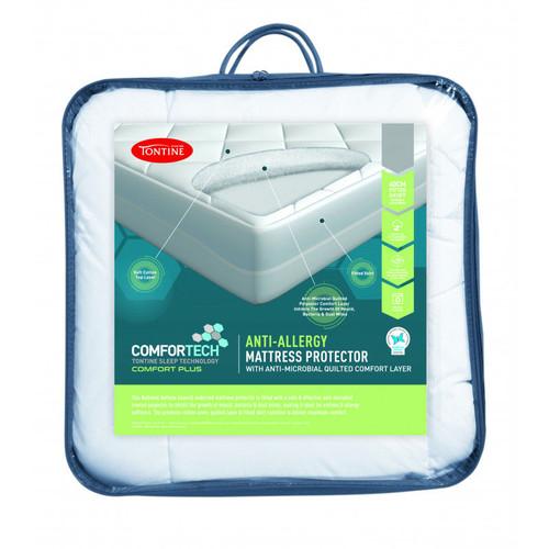 Tontine Comfortech Anti-Allergy Mattress Protector   My Linen