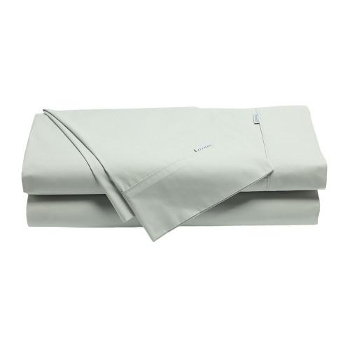 Bianca Heston Silver Sheet Set | My Linen