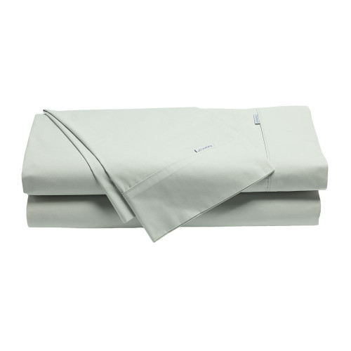Bianca Heston Silver Sheet Set | My Linen