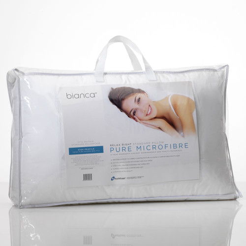 Bianca Microfibre High Profile Pillow | My Linen