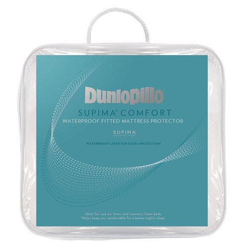 Dunlopillo Supima Comfort Waterproof Mattress Protector | My Linen
