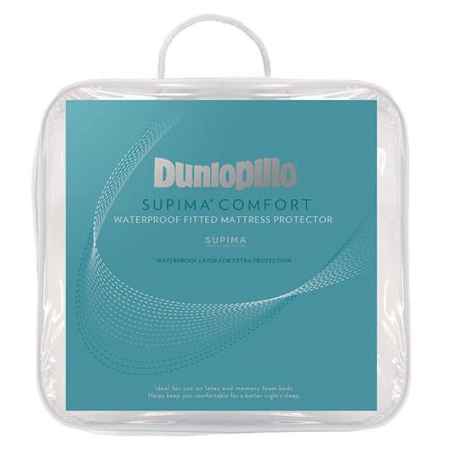 Dunlopillo Supima Comfort Waterproof Mattress Protector | My Linen