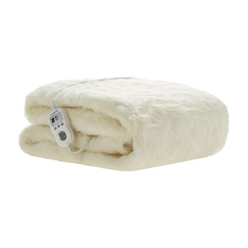 Linen House Electric Blanket Multi-Zone Australian Wool Double Bed | My Linen