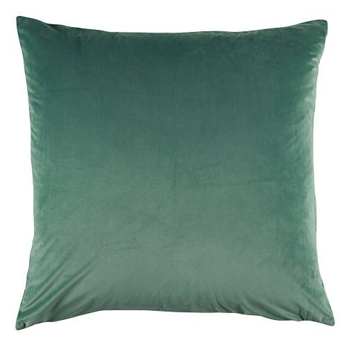 Bianca Vivid Sage Velvet European Pillowcase   My Linen