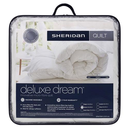Sheridan Deluxe Dream Single Bed Quilt Doona   My Linen