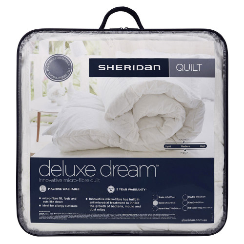 Sheridan Deluxe Dream Super King Quilt Doona | My Linen