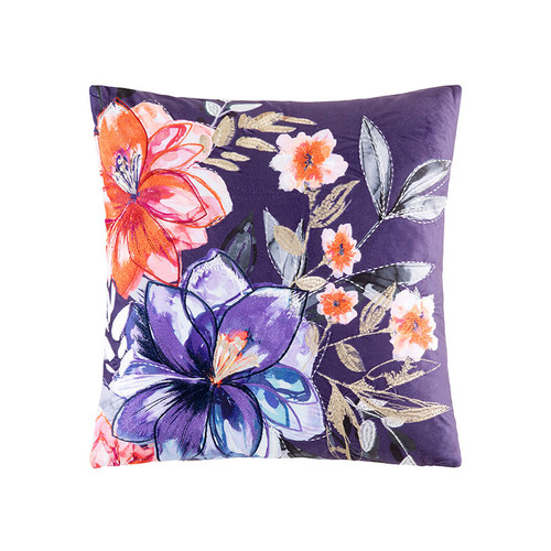 KAS Ava Multi Square Filled Cushion | My Linen
