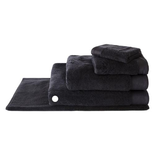 Sheridan Luxury Retreat Towel Collection Bath Sheet Carbon   My Linen