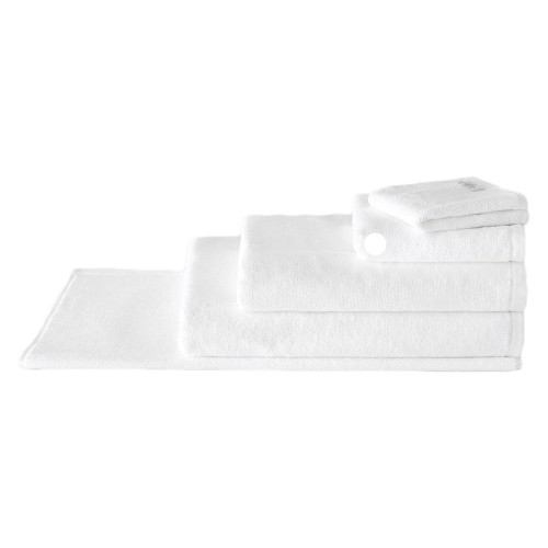 Sheridan 100% Combed Cotton Twist Towel Collection Hand Towel White | My Linen