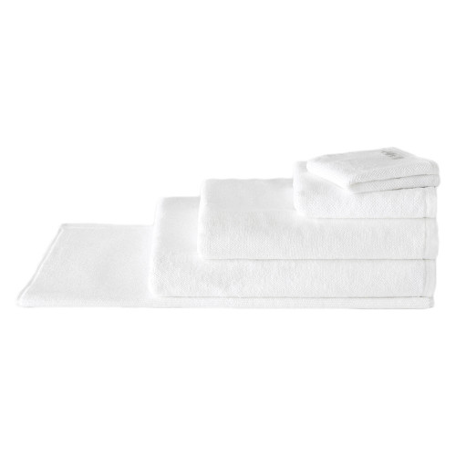 Sheridan 100% Combed Cotton Twist Towel Collection 7pc Bath Towel Set White | My Linen