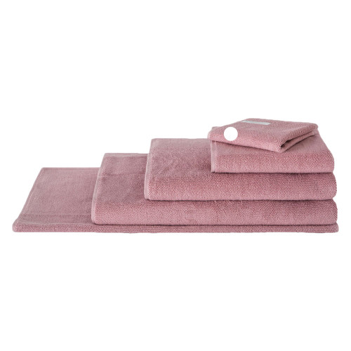 Sheridan 100% Combed Cotton Twist Towel Collection Face Washer Rosebud | My Linen