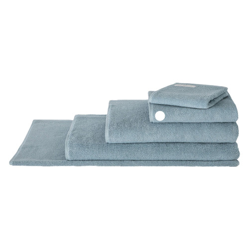 Sheridan 100% Combed Cotton Twist Towel Collection Hand Towel Misty Teal   My Linen