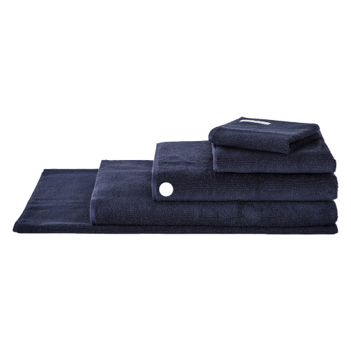 Sheridan 100% Combed Cotton Twist Towel Collection Bath Towel Midnight | My Linen