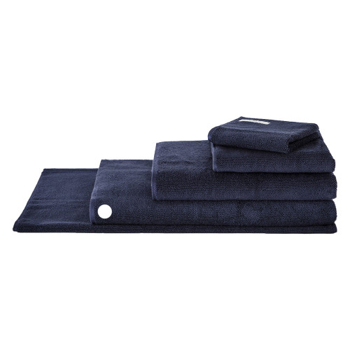 Sheridan 100% Combed Cotton Twist Towel Collection Bath Sheet Midnight | My Linen
