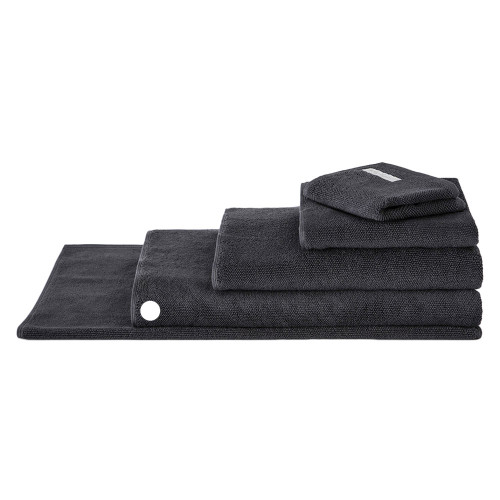Sheridan 100% Combed Cotton Twist Towel Collection Bath Sheet Graphite | My Linen
