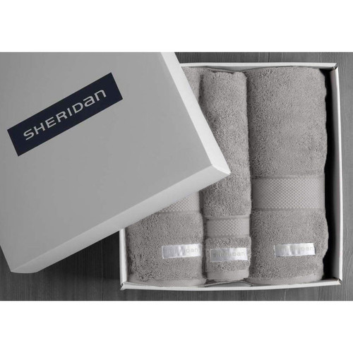 Luxury Egyptian Towel Gift Set | Cloud Grey