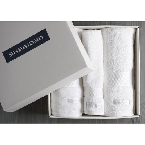 Luxury Egyptian Towel Gift Set | Snow