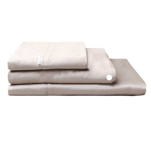 Logan and Mason Egyptian Cotton Fitted Sheet Linen   My Linen