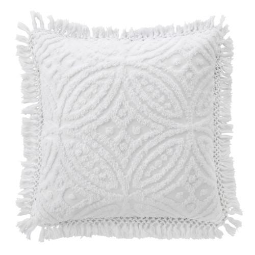 Bianca Savannah White European Pillowcase   My Linen