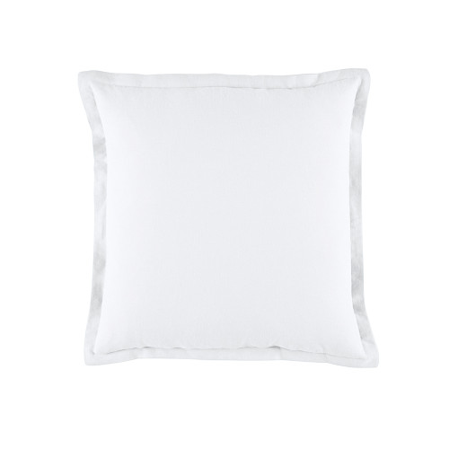 Bianca Wellington  White Square Filled Cushion | My Linen
