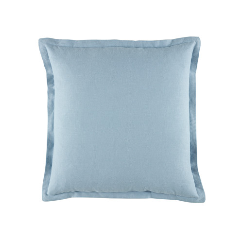 Bianca Wellington Blue Square Filled Cushion | My Linen