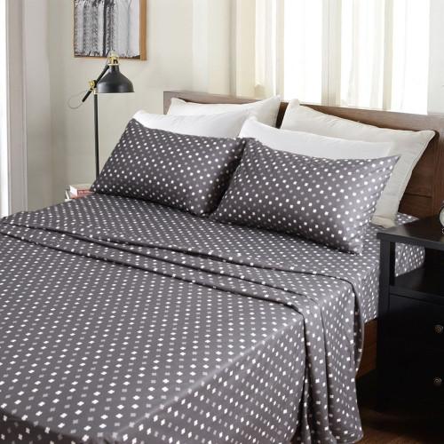 Kingtex Micro Flannel 40cm Single Bed Sheet Set Add It Up | My Linen