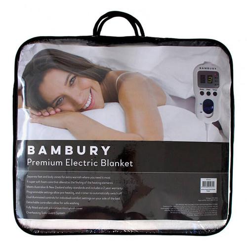 Bambury Electric Blanket Premium Double Bed | My Linen