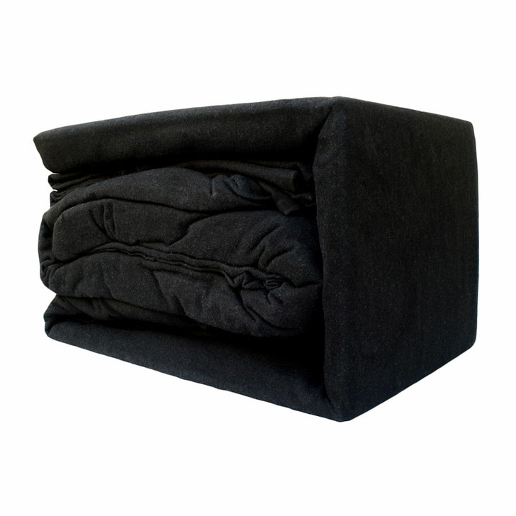 Black Flannelette Sheet Set
