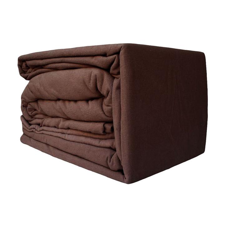 Brown Flannelette Sheet Set
