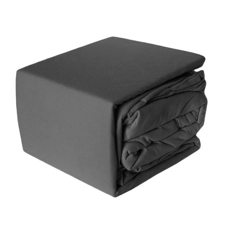 Charcoal Micro Flannel Sheet Set