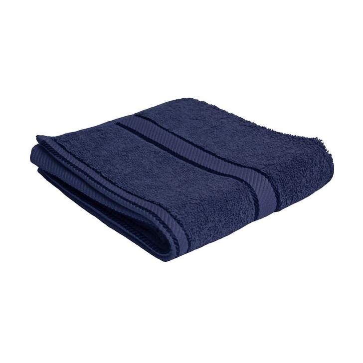 100% Cotton Navy Blue Hand Towel