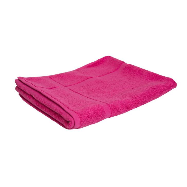 100% Cotton Fuchsia / Hot Pink Bath Mat