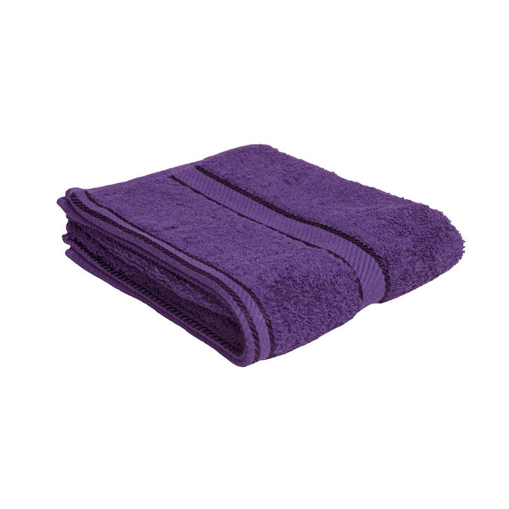 100% Cotton Purple Hand Towel