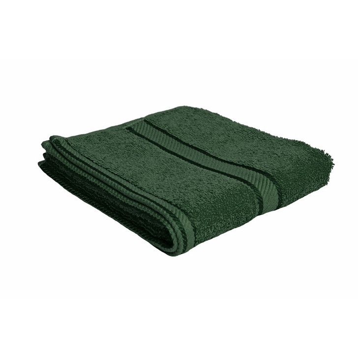 100% Cotton Forest Green Hand Towel