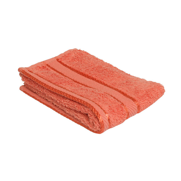 100% Cotton Terracotta / Rust Face Washer