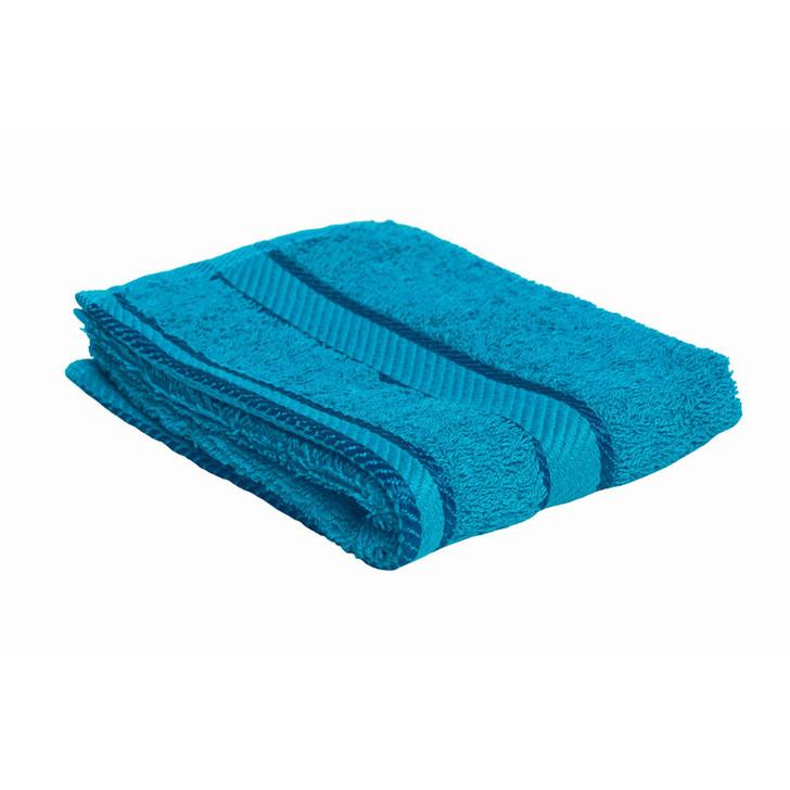 100% Cotton Bright Aqua Face Washer