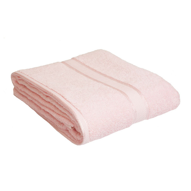 100% Cotton Baby Pink Bath Sheet