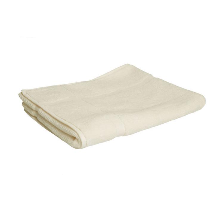 100% Cotton Cream Bath Mat