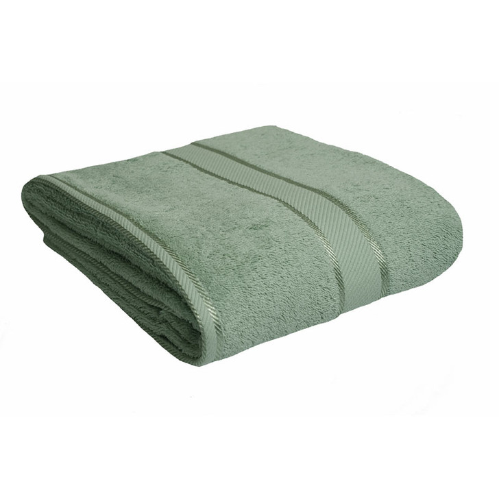 100% Cotton Frost Green Bath Sheet