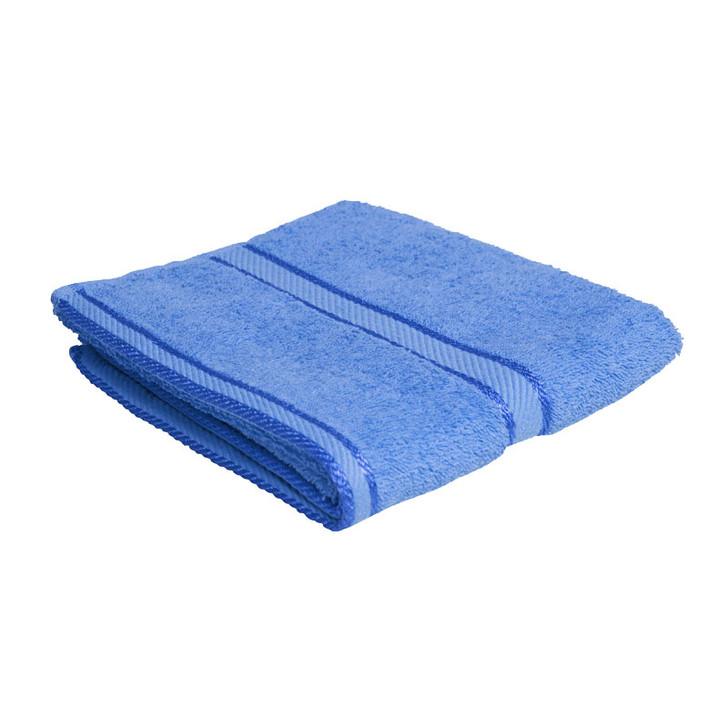 100% Cotton Blue Hand Towel