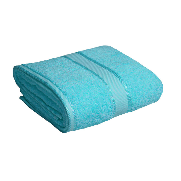 100% Cotton Turquoise Bath Towel