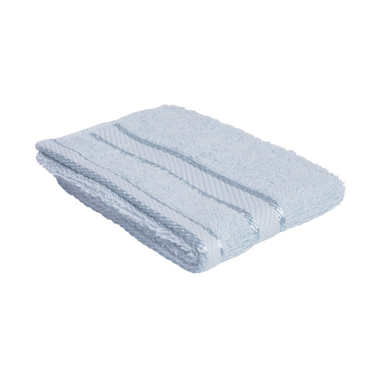 100% Cotton Baby Blue Face Washer