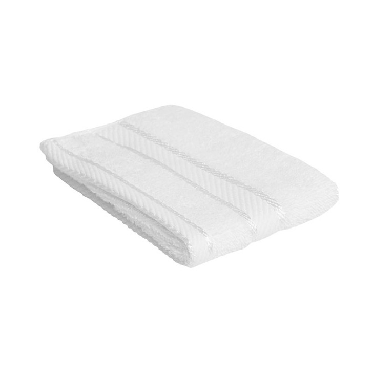 100% Cotton White Face Washer
