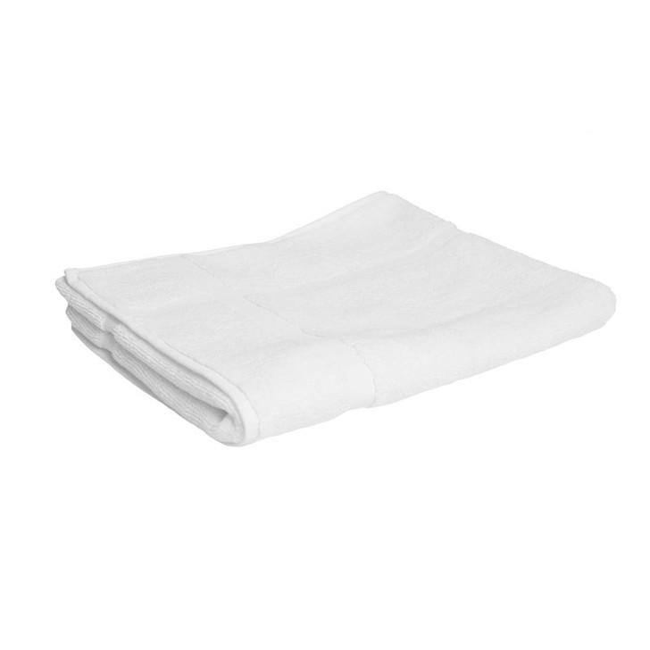 100% Cotton White Bath Mat