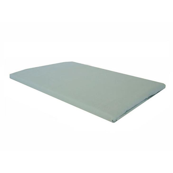 Frost Green Plain European Pillowcase