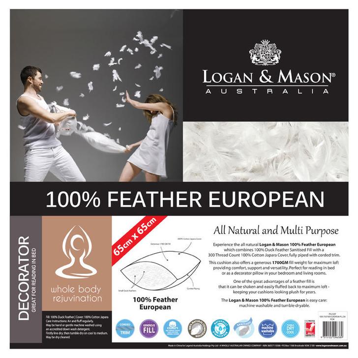 Feather European Pillow