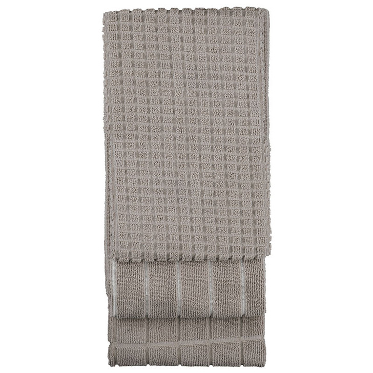 Bambury Grey Microfibre Tea Towel   My Linen